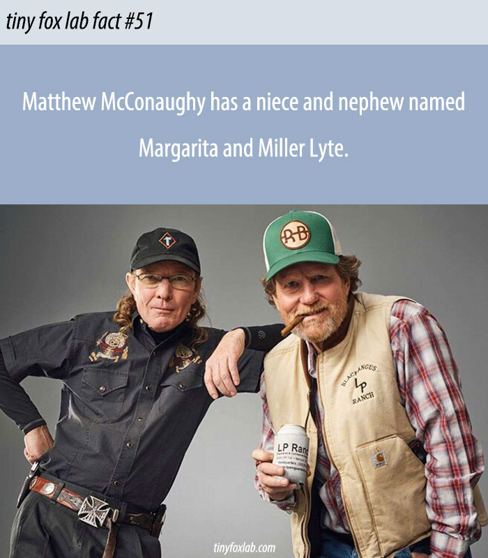 Margarita McConaughy And Miller Lyte