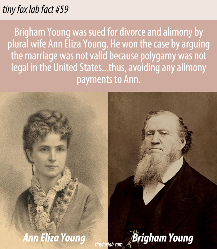 Brigham Young and Ann Eliza Young
