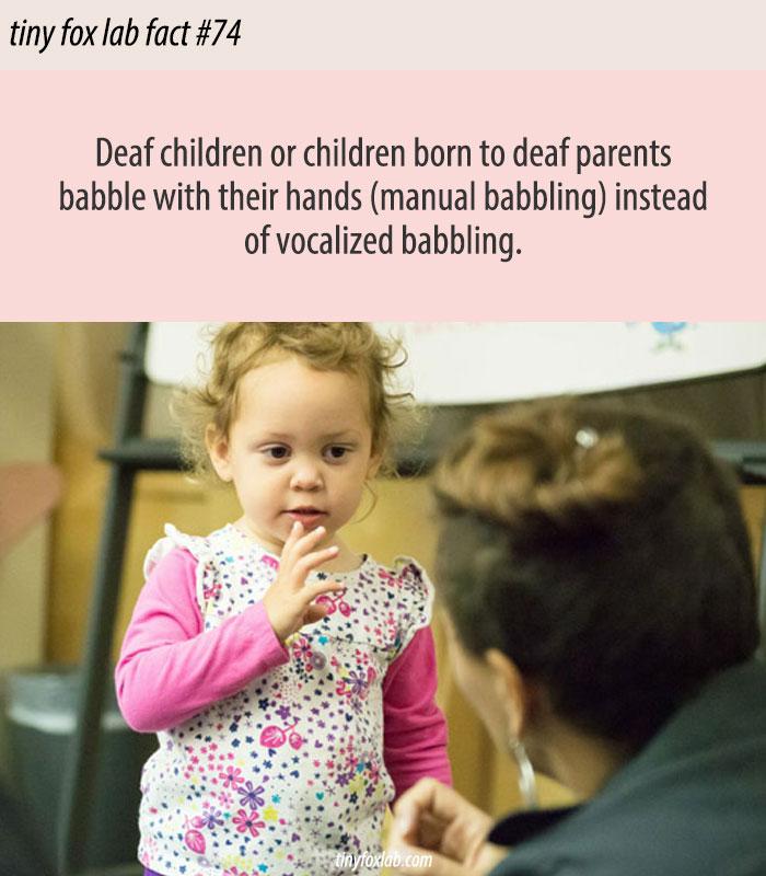 Manual Babbling in Sign Language