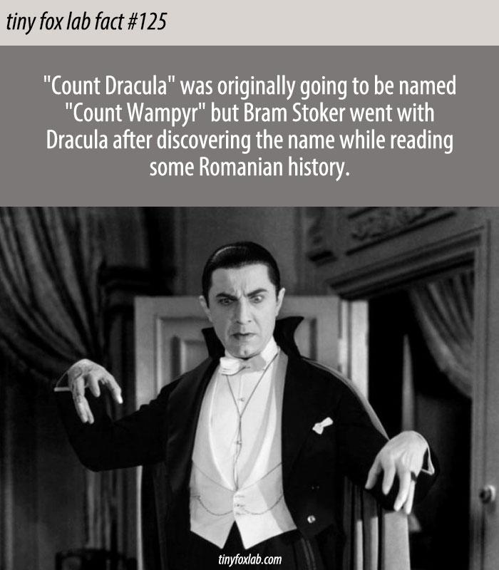 Count Wampyr Not Dracula