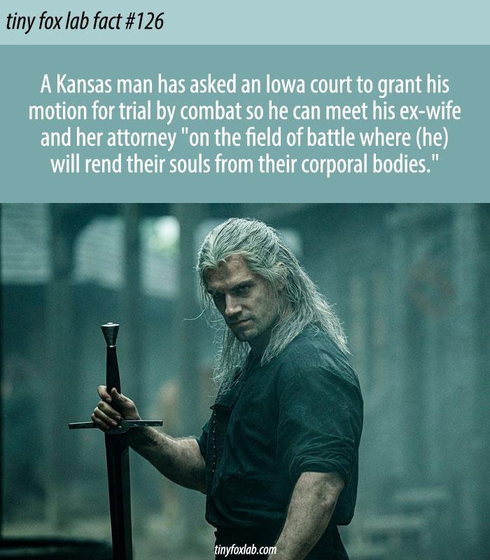 Divorce Settlement Trial By Combat