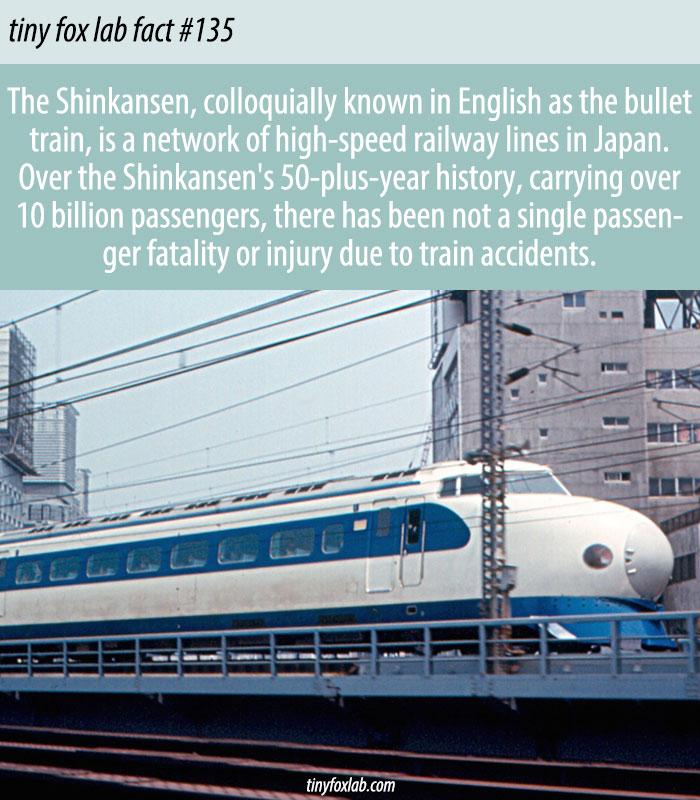 The Shinkansen's Record