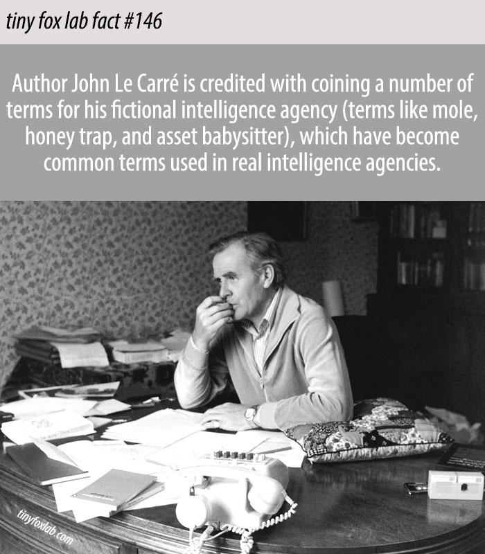 John Le Carré's Spy Terms