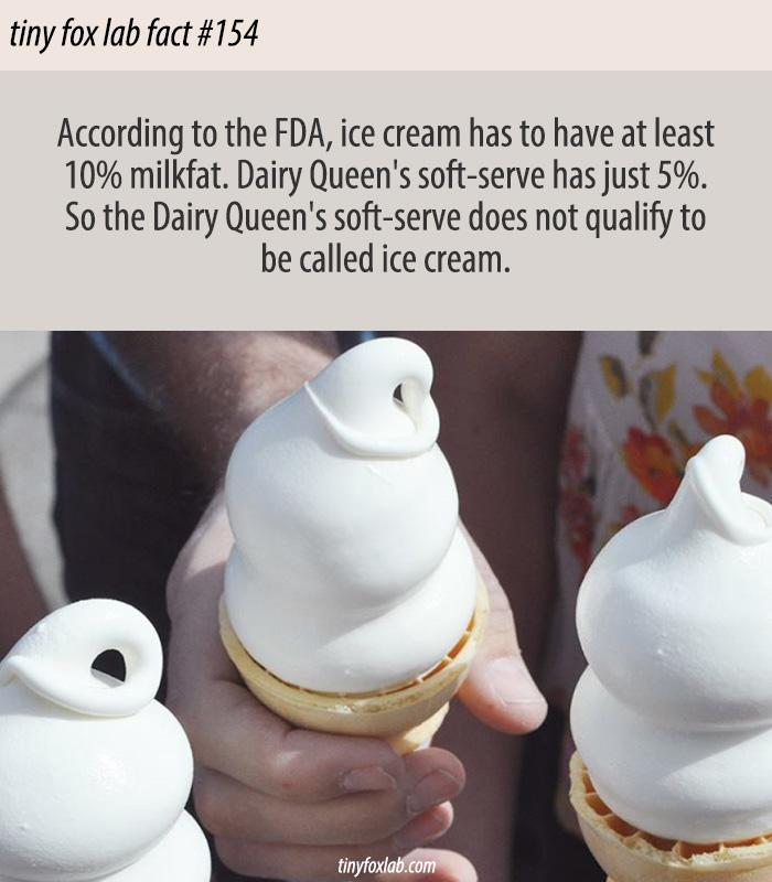 Soft Serve Isn't Ice Cream