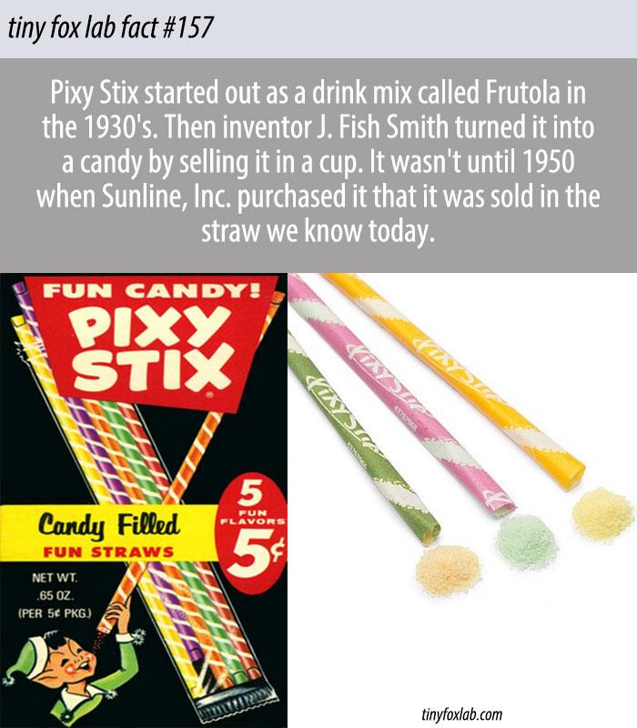 The History of Pixy Stix