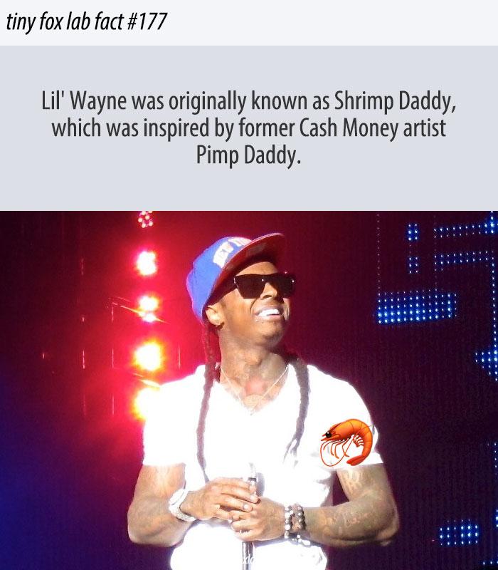 Lil Wayne's First Rap Name Was Shrimp Daddy