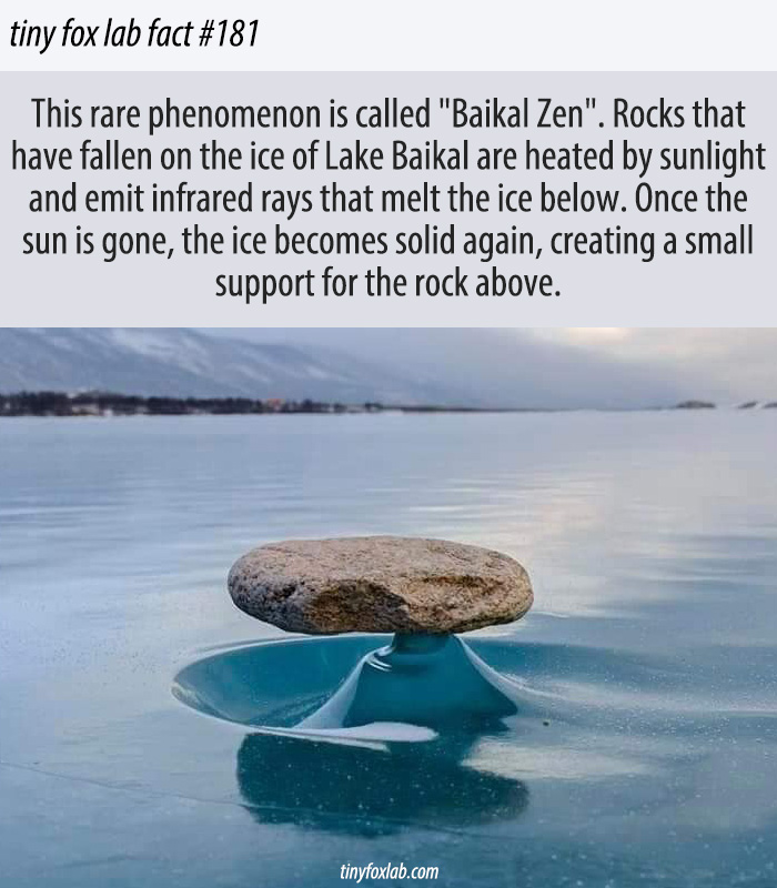 Incredible Natural Phenomena on Lake Baikal