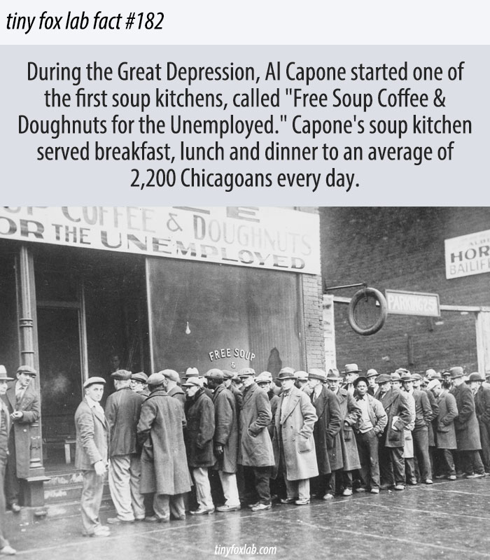 Free Soup Coffee & Doughnuts for the Unemployed