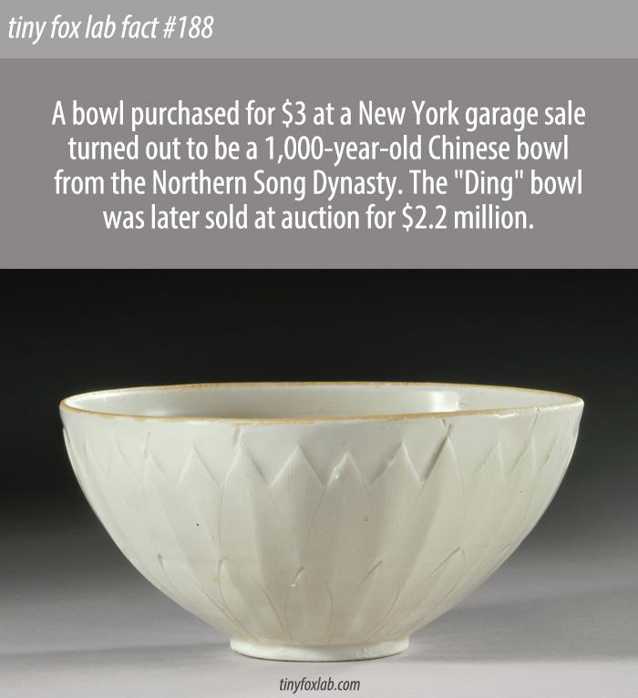 $3 Bowl Was a Hidden Treasure