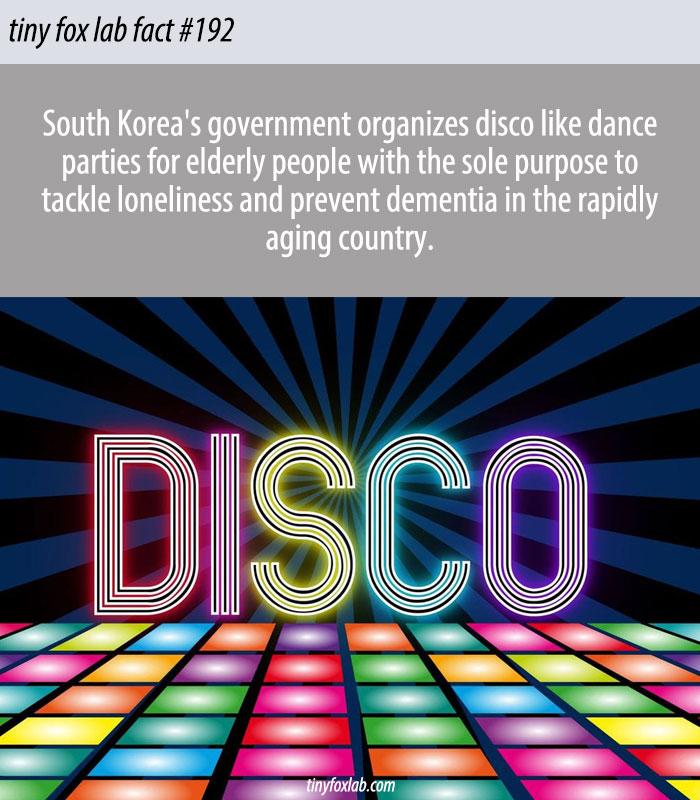 South Korean Elderly Disco