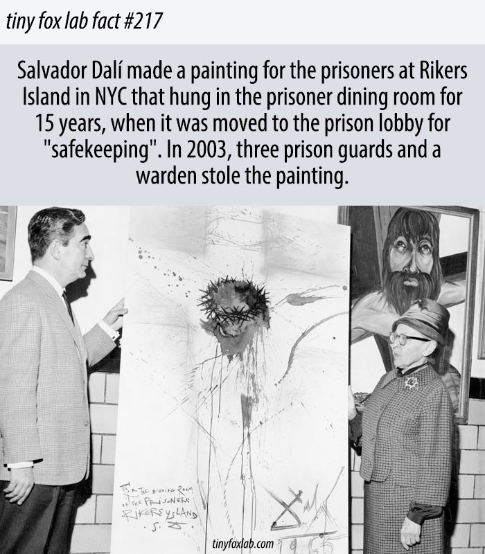 The Prison Guards Who Stole a Salvador Dalí Painting