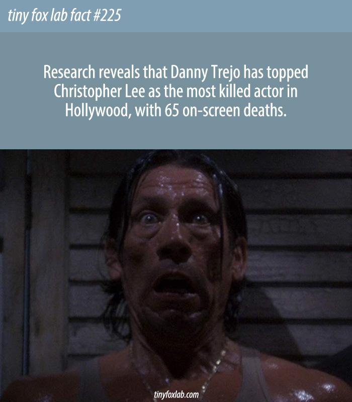 Danny Trejo Has the Most On-Screen Deaths of Any Actor