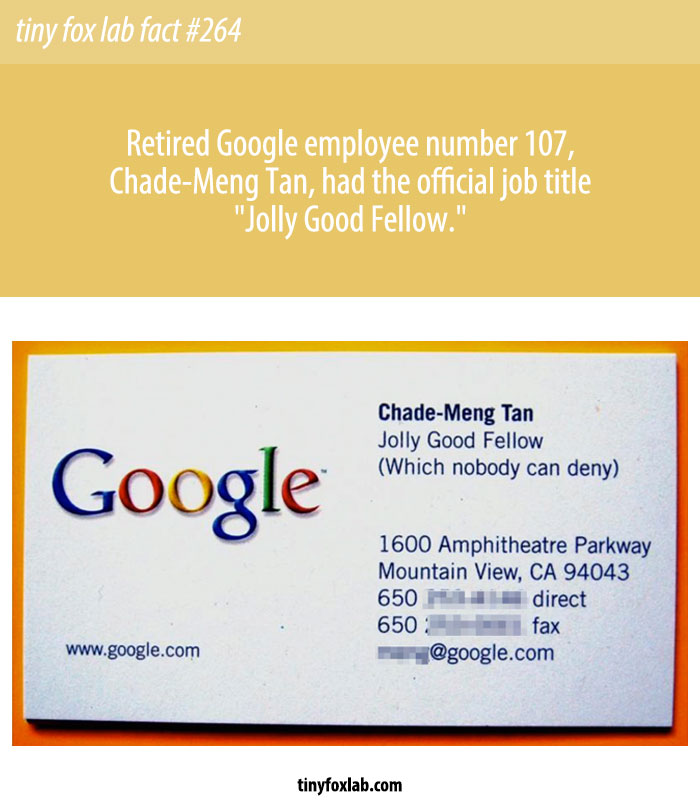 Google 'Jolly Good Fellow' Chade-Meng Tan