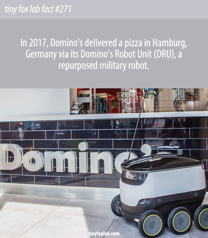 Domino's Turns to Robots to Deliver Pizza