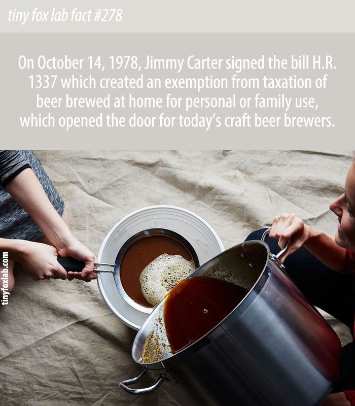 How Jimmy Carter Sparked the Craft Beer Revolution