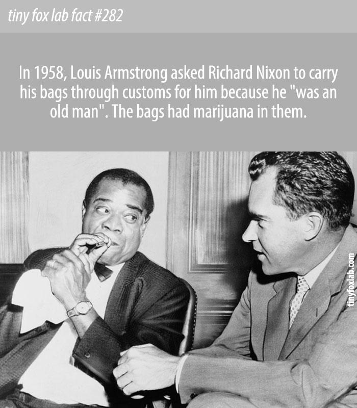 Satchmo, Nixon and the Hidden Stash