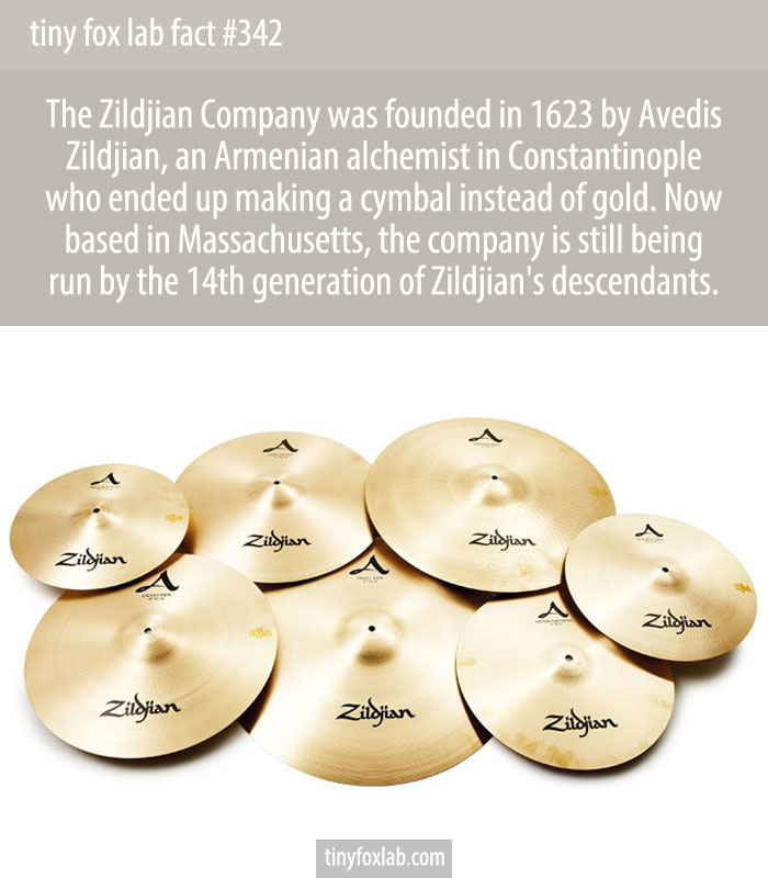 Sabian cymbals are run by another branch of the same family.