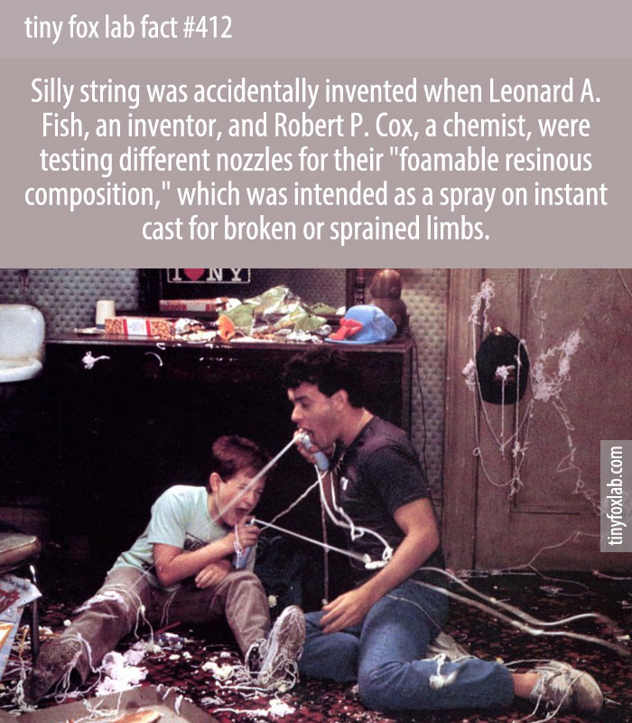 The invention of Silly String was a complete accident that nearly didn't happen.
